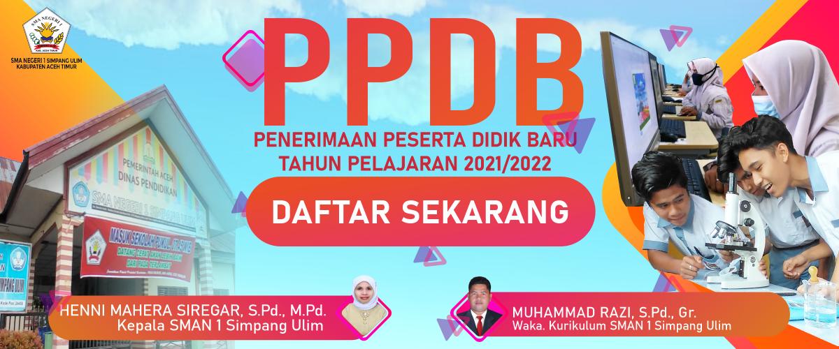 Pendaftaran Peserta Didik Baru 2021 Sma Negeri 1 Simpang Ulim